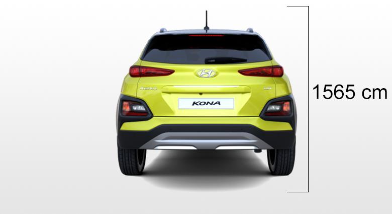 Hyundai Kona visina