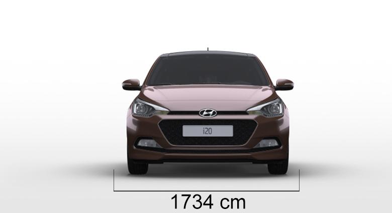 Hyundai i20 sirina