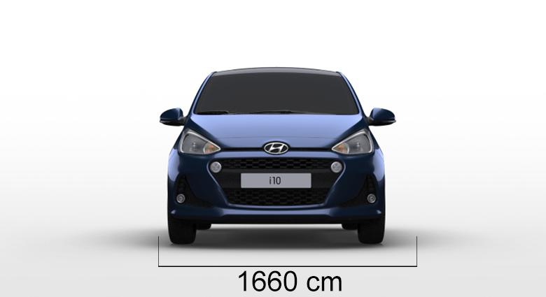 Hyundai i10 sirina