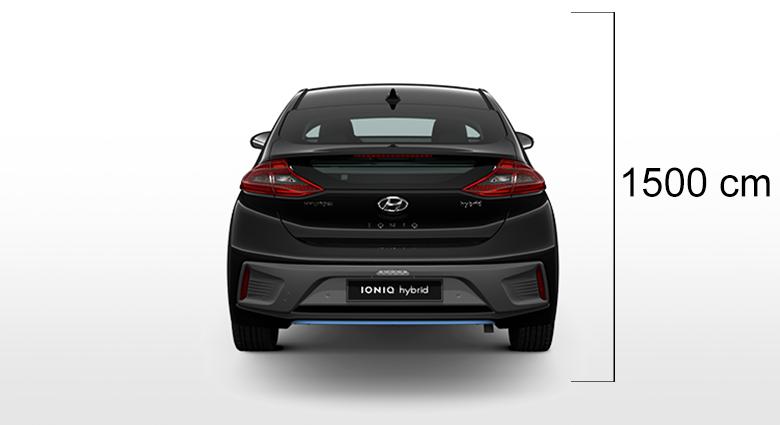 Hyundai Ioniq visina